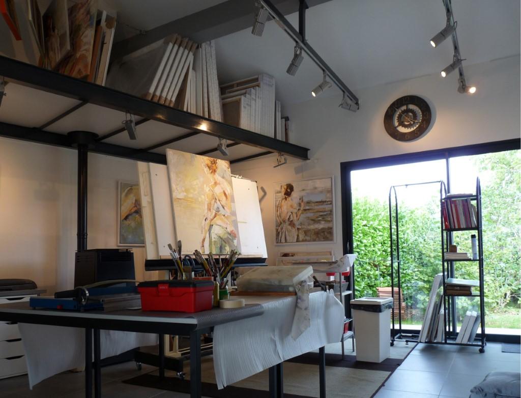 Chassis Atelier D Artiste la vie de l'atelier - marcos rodrigo - artiste peintre